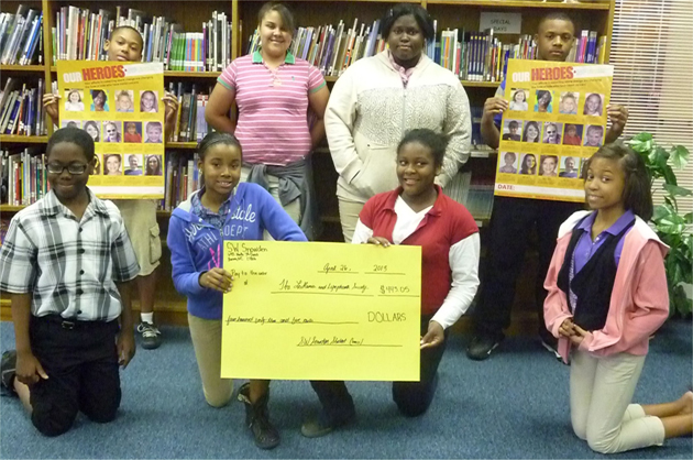 Student Recognized for Giving Back - SW Snowden | Beaufort