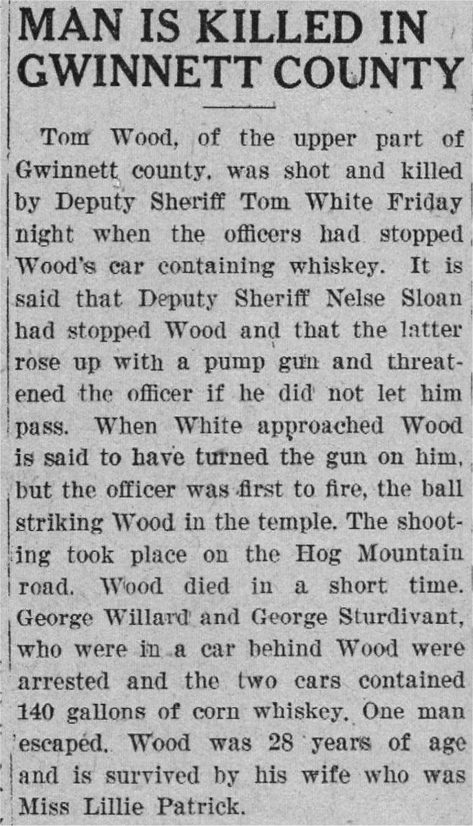 TMc: Guns & Moonshine 1922 | Beaufort County Now